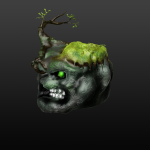 Earth elemental for a games jam game