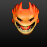 Fire elemental for a games jam game