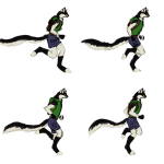 2D sprite animation for a.