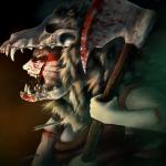 Berzerker in battle