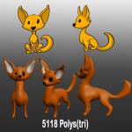 Design idea and rough model sculpt for a virtual pet.