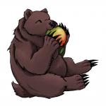 Bear logo for a client